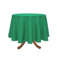 Покривка за маса Тринити  Ф 150 - Тъмно Зелен