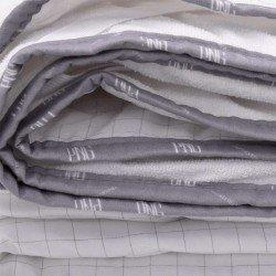 Протектор Капитон./PU с карб.нишка тип стелка 144/200 - Бял