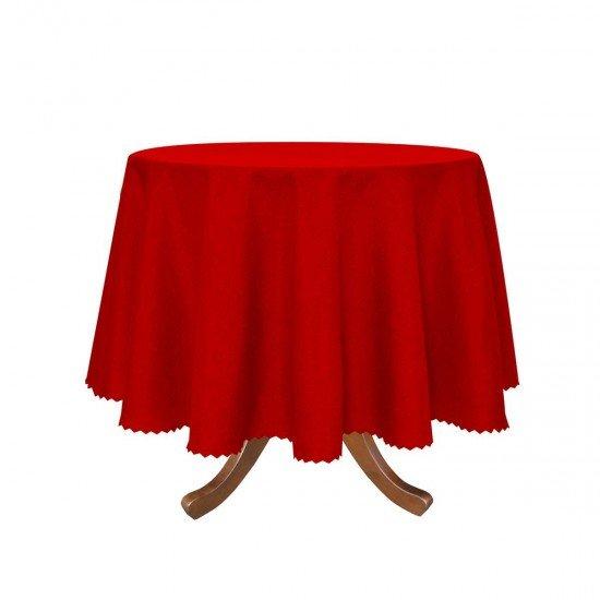 Покривка за маса Тринити  Ф 150 - Червен