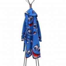 Детски халат за баня DF печат XL - Усмивки