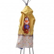 Детски халат за баня DF печат L - Жирафи