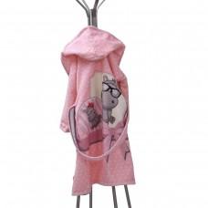 Детски халат за баня DF печат M - Хипо