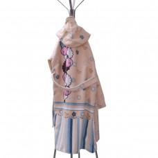 Детски халат за баня DF печат XL - Овце