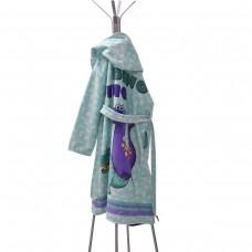 Детски халат за баня DF печат XL - Дино