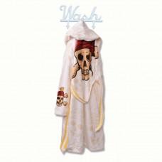 Детски халат за баня DF печат XL - Пирати