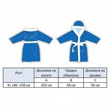 Детски халат за баня DF печат XL - Анималс