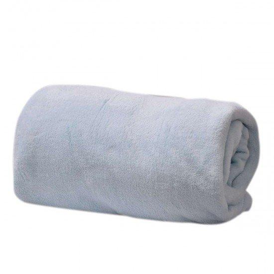 Одеяло Микрофибър 12-4607 ТРХ 150/200 - Светло Син