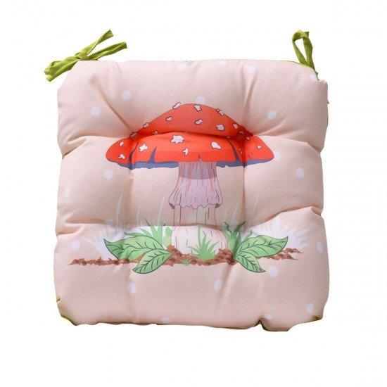 Възглавница за стол печат 45/45 - Гъба