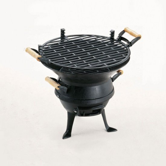 Чугунено барбекю на дървени въглища 46.5х36х40см 0630 Landmann