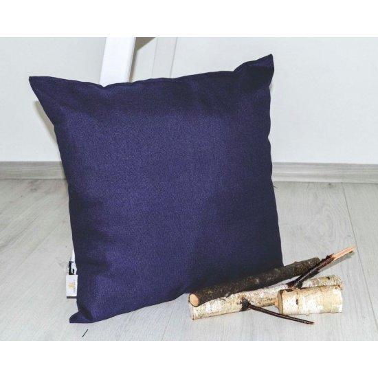 Декоративна възглавница тринити 45/45 - Тъмно синя