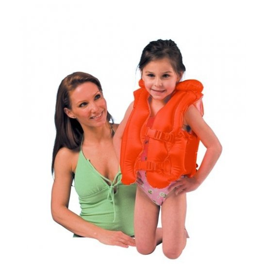 Детска спасителна жилетка Delux 50x47см 58671EU Intex