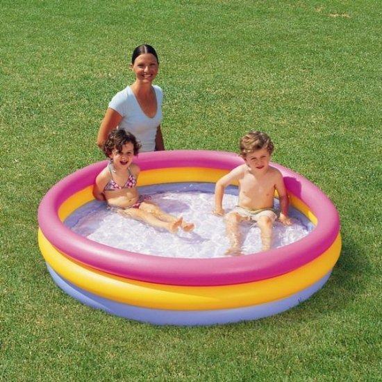 Детски басейн на три разноцветни нива Bestway 152 см