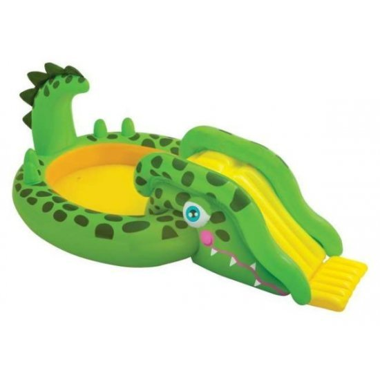 Детски център за игра Intex Крокодилче 251 х 140 х 86 см