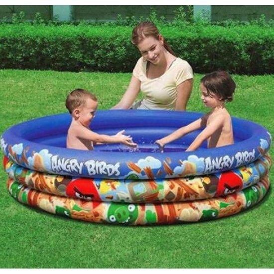 Детски надуваем басейн Bestway Angry Birds