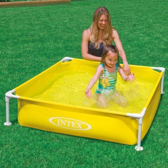 Детски сглобяем басейн 122x122x30см 57172NP Intex