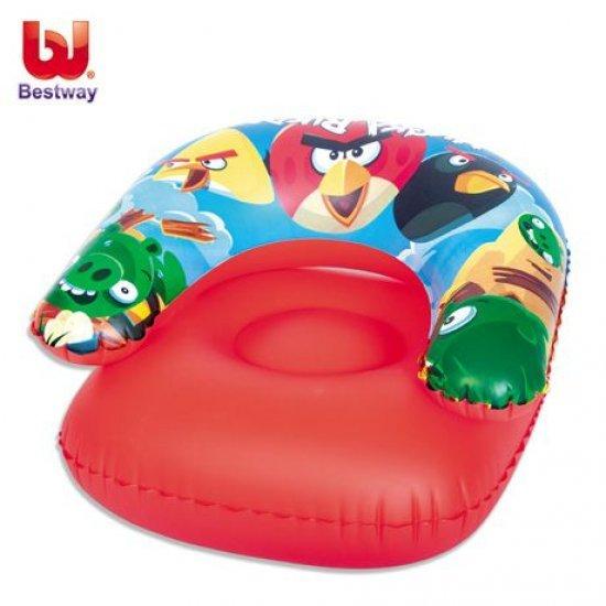 Детскo надуваемо кресло Bestway Angry Birds