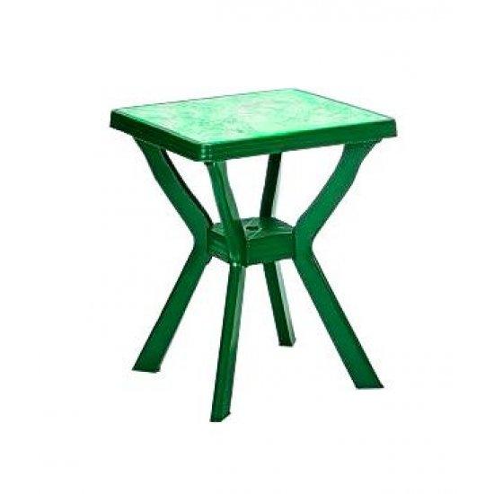 Градинска Маса Рено 70x70x72 – зелен/мрамор