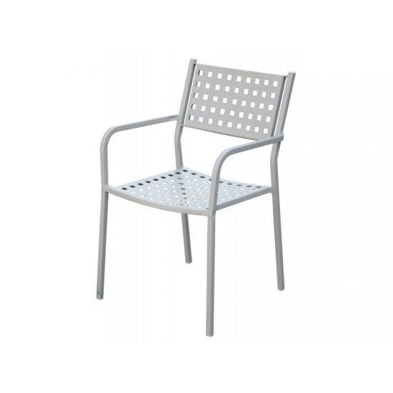 Градински стол AM C159 бежов метал San Valente