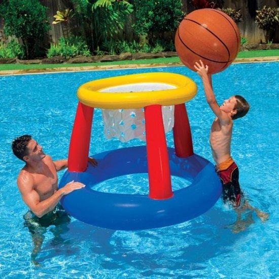 Комплект надуваем кош за баскетбол Intex