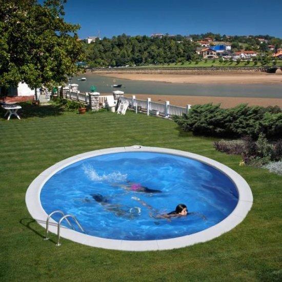 Кръгъл басейн за вкопаване Gre 420x150cм KPE4259