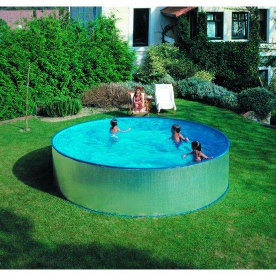 Кръгъл сглобяем басейн Gre 450х90cм KITWPR450E