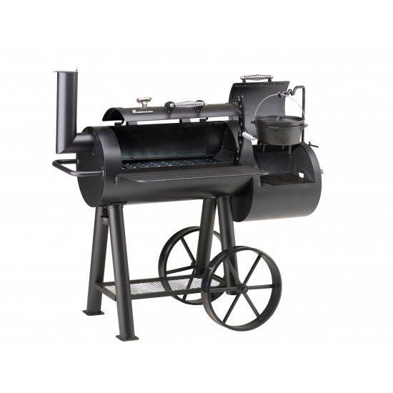 Локомотив барбекю на дървени въглища 147х133х83см 11404 Landmann