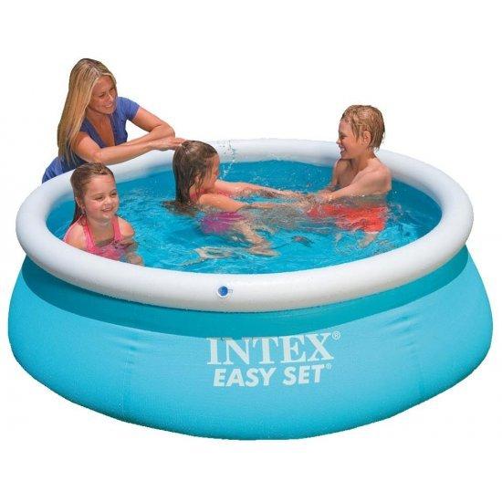 Надуваем басейн Еasy Set 183x51см 54402 Intex