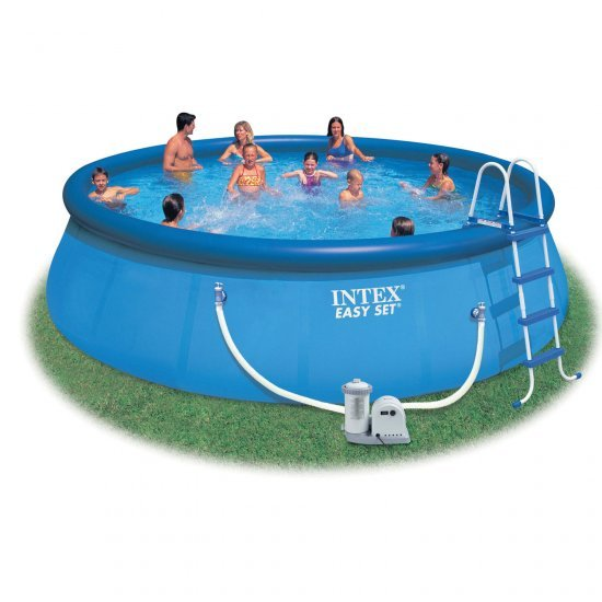 Надуваем басейн Еasy Set 549x107см 56417 Intex