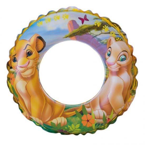 Надуваем детски пояс Цар лъв 61см 58259NP Intex
