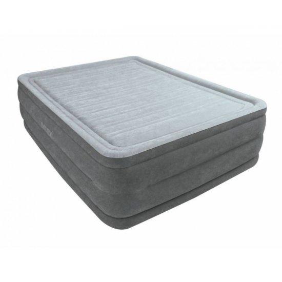 Надуваем матрак с вградена помпа INTEX Queen Comfort-Plush