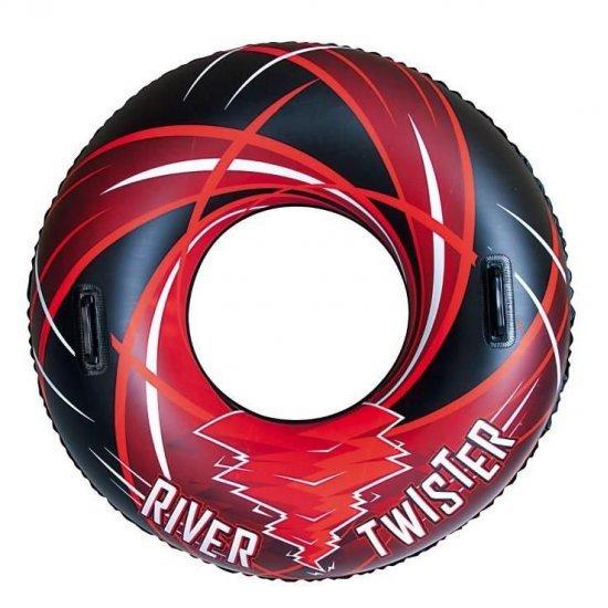 Надуваем пояс с дръжки River Twister 107 см