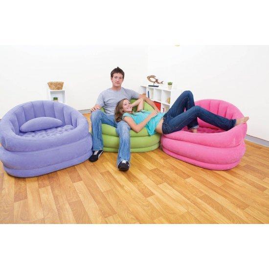Надуваем стол Cafe Chair 91x102x65см 68563NP Intex