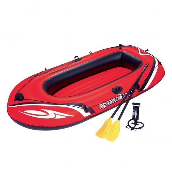 Надуваема лодка с гребла и помпа 242х147см 61102 Bestway