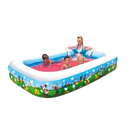 Правоъгълен надуваем басейн Mickey Mouse 269x175x51см 91008 Bestway