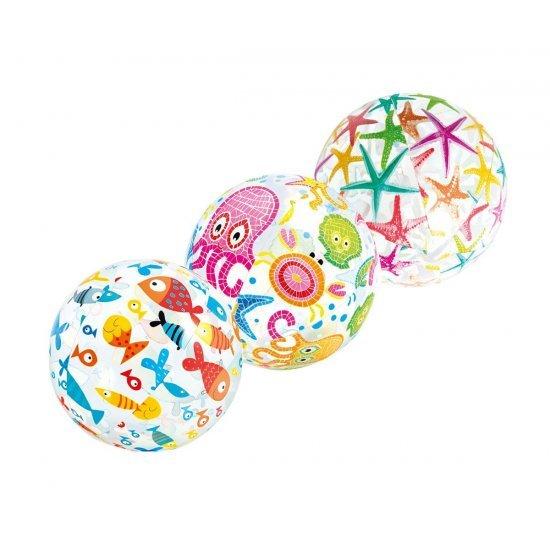 Разноцветна надуваема топка 51см 59040NP Intex
