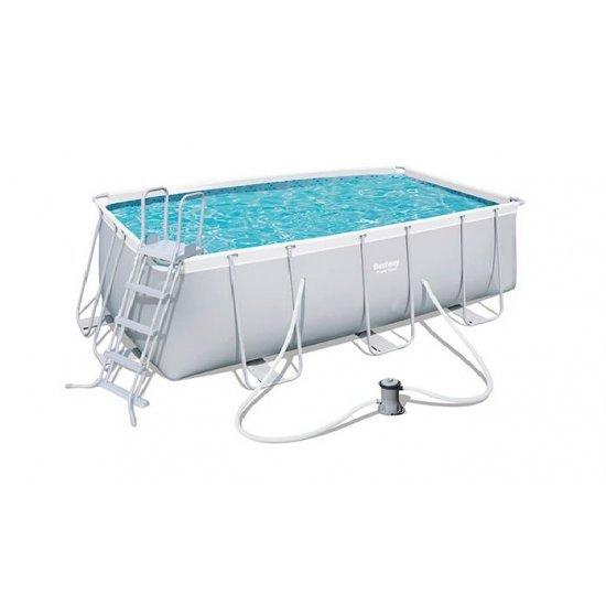 Сглобяем басейн със стълба 412x201x122см 56456 Bestway