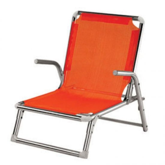 Сгъваем плажен стол алуминиев
